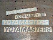 Yogamasters Sticker