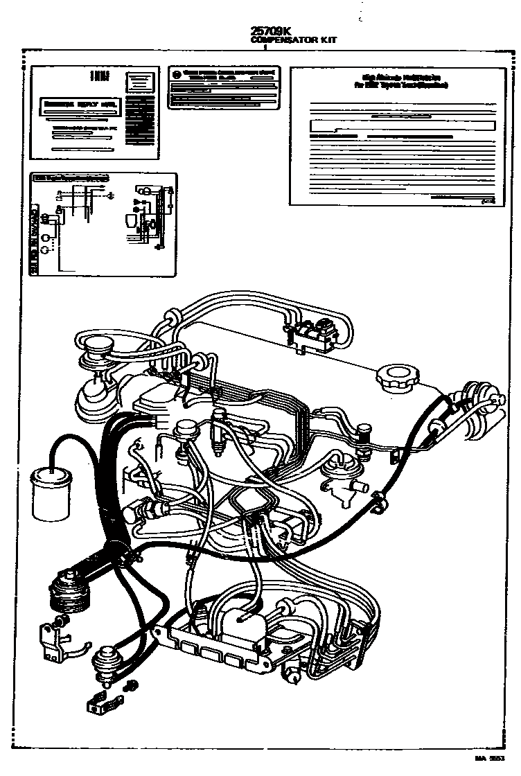 Need a 1981 CA vacuum diagram, FSM download/pic is Ideal