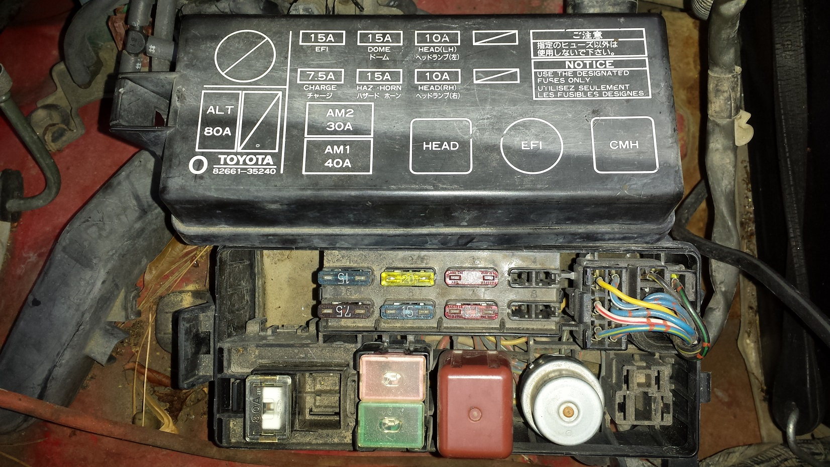 For Of A 2001 Toyota Solara Fuse Box Diagram Does 91 3vze Use A Starter Relay Yotatech Forums