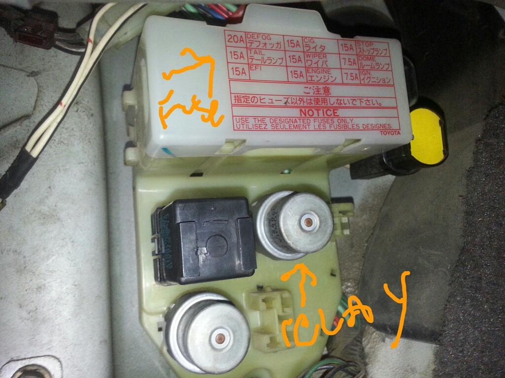 1988 toyota pickup headlight wiring diagram nfhs shot put layout truck fuse box auto
