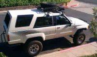 Pics of Yakima rack/Tire Carrier on my 1st gen - YotaTech ...