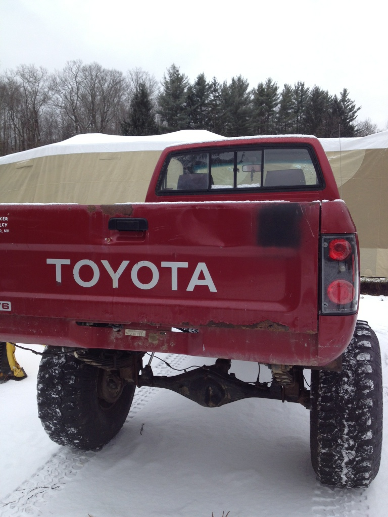 medium resolution of 90 95 toyota pickup bed 400 williamstown ma