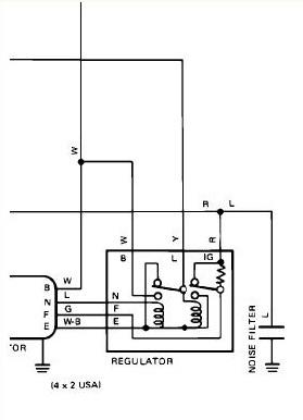 Help! '80 pickup alternator 3wire plugwhich wires go