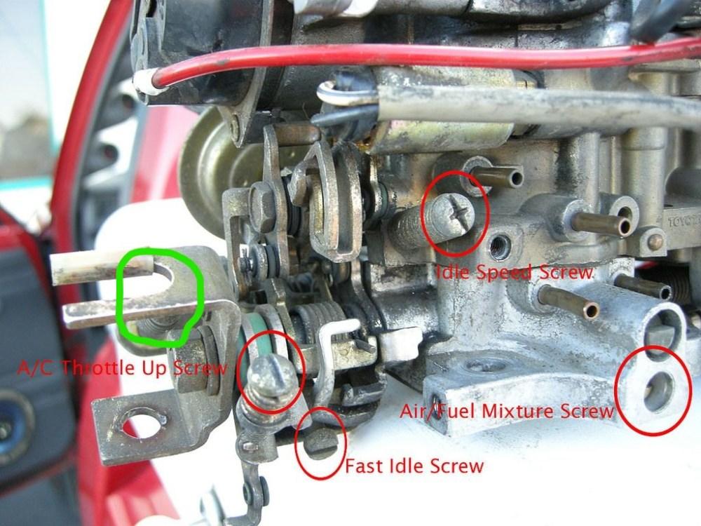 medium resolution of idle adjustment 1982 22r inkedidle screw li jpg