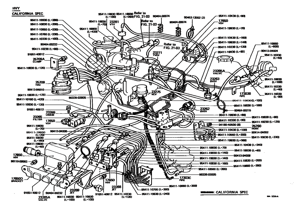 medium resolution of need a 1981 ca vacuum diagram fsm download pic is ideal yotatech toyota 22r engine wiring picture of 81 toyota pickup 22r engine diagram
