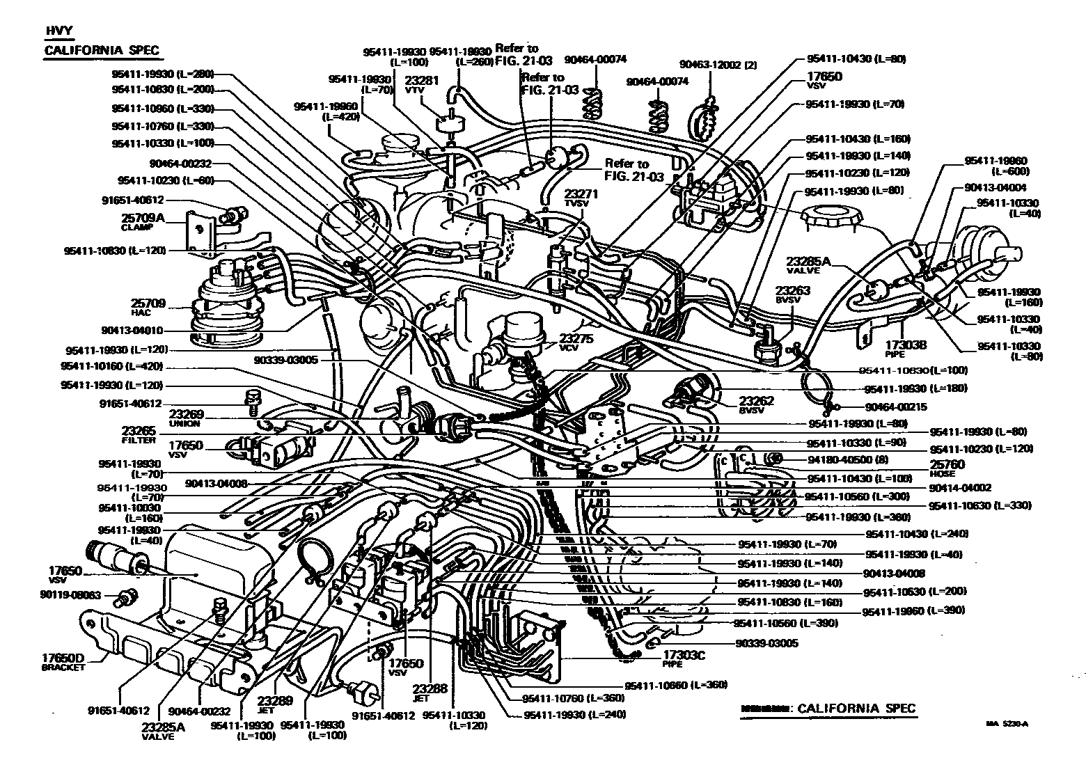 hight resolution of need a 1981 ca vacuum diagram fsm download pic is ideal 96 toyota supra 95 toyota corolla hatchback