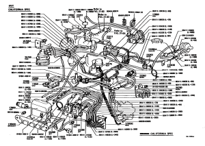 Need a 1981 CA vacuum diagram, FSM downloadpic is Ideal  YotaTech Forums