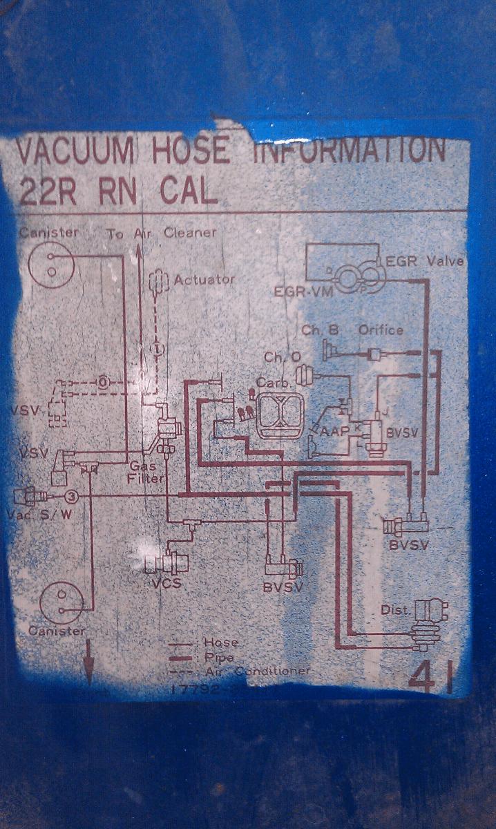 hight resolution of 84 22r carburetor wiring diagram