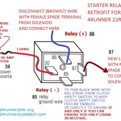 85 22re Wiring Diagram Club Car No Spark Troubleshooting Starter Not Engaging? - Page 3 Yotatech Forums
