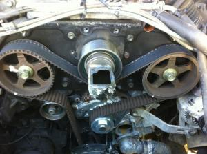 What does a worn timing belt look like? 3VZE  YotaTech Forums