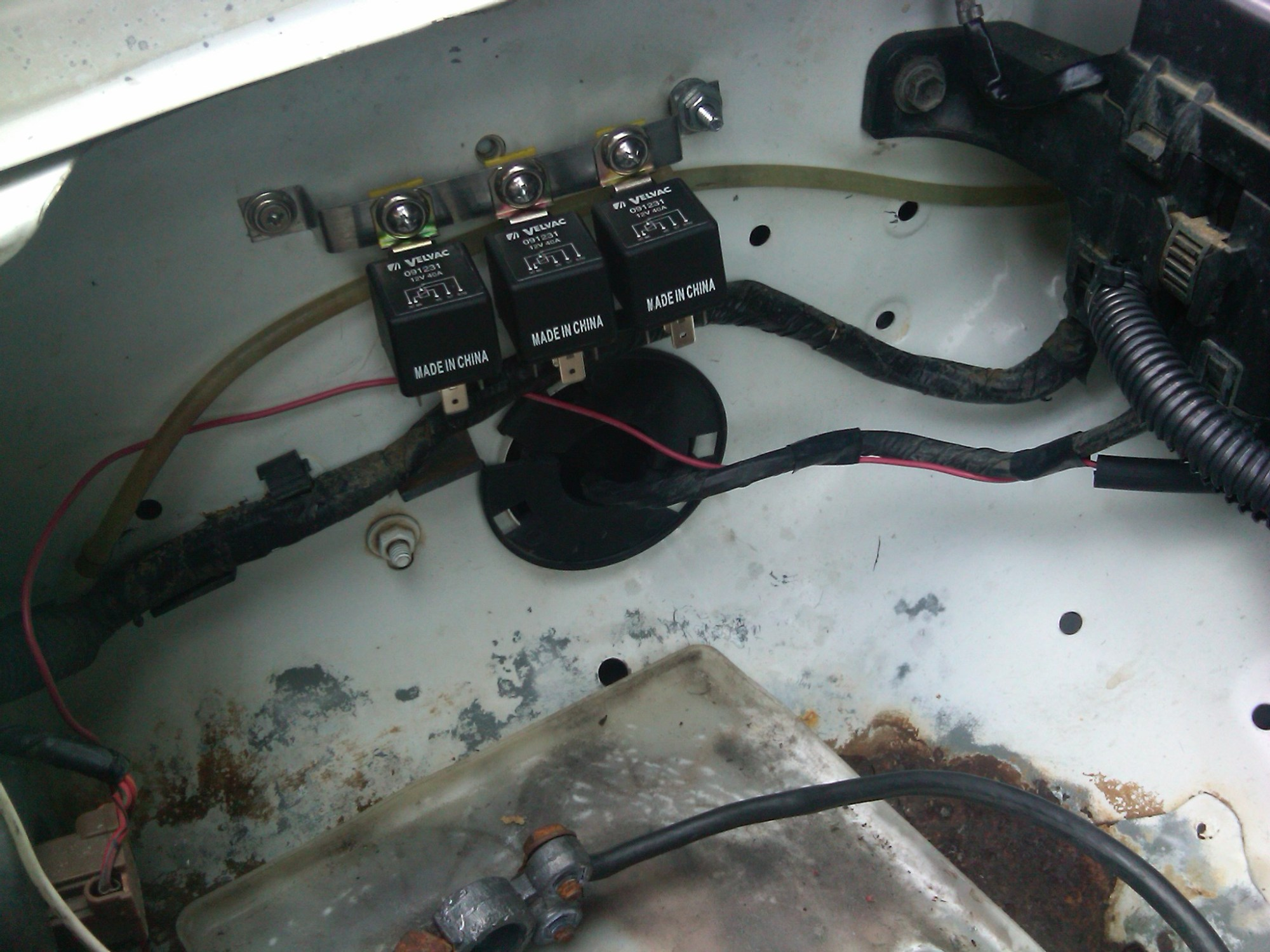 hight resolution of diy headlight wiring harness upgrade for low yotatech forums name img00203 20100117 1325 jpg