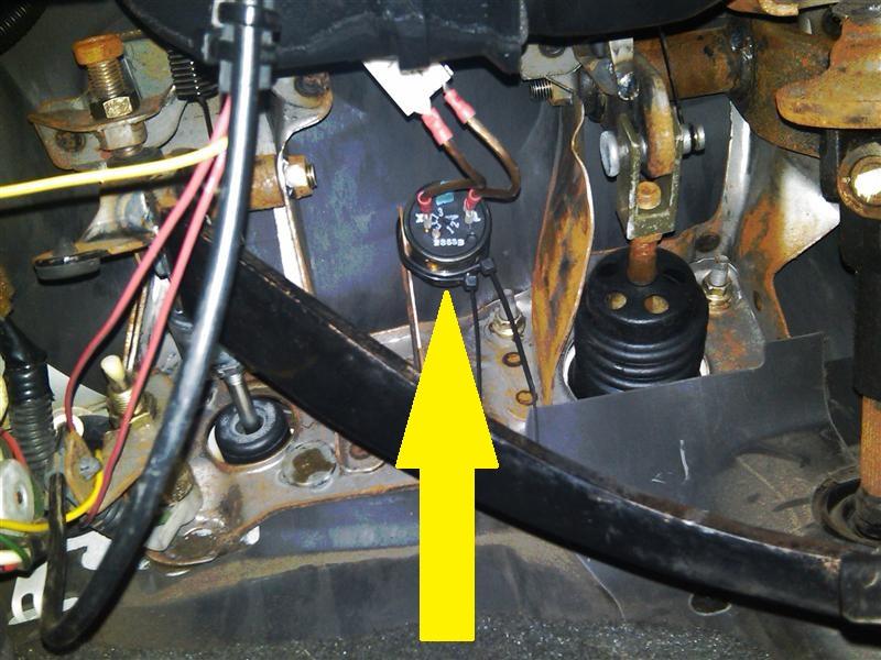 led turn signal flasher wiring diagram 2000 ez go golf cart 1989 pickup location please - yotatech forums