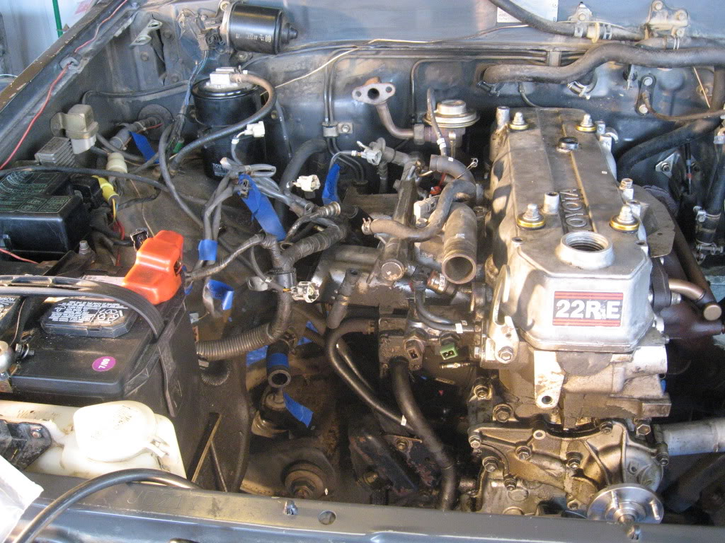 Together With Toyota Pickup 22re Engine On 4runner Engine Diagram