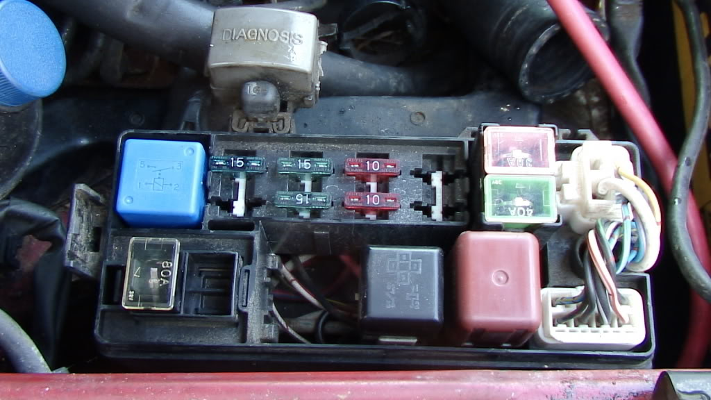 Toyota Camry Fuse Box Diagram 1994 Toyota Camry Fuse Box 1988 Toyota