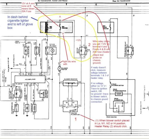 small resolution of blower motor stopped working yotatech forums 95 toyota corolla interior fuse box diagram
