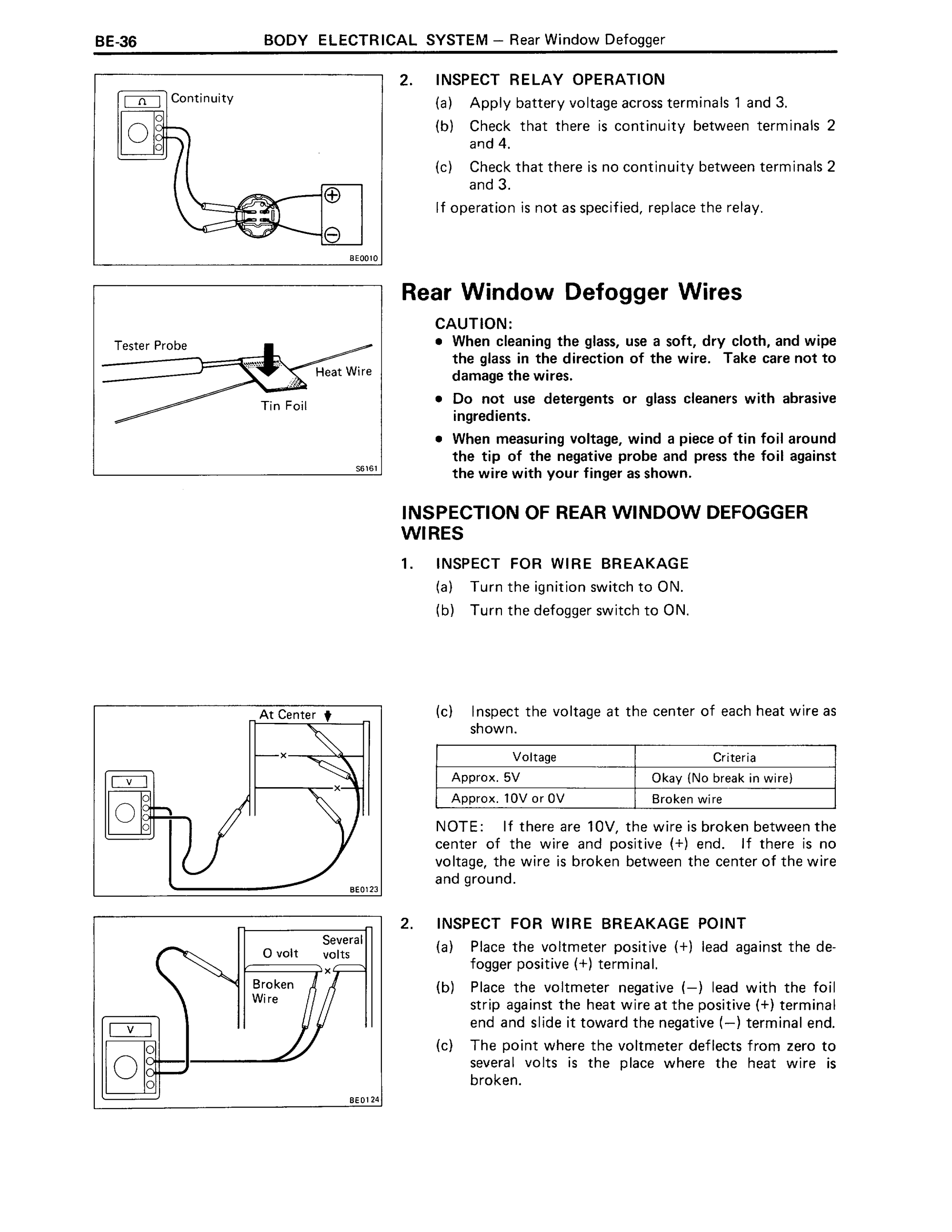 hight resolution of 88 4runner rear widow defroster wiring help toyota truck and 4runner 88 defogger page 2 png