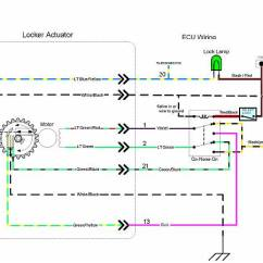 2002 Toyota Tacoma Wiring Diagram Vauxhall Vectra Stereo Adding A Factory E-locker In Non Quipped - Yotatech Forums