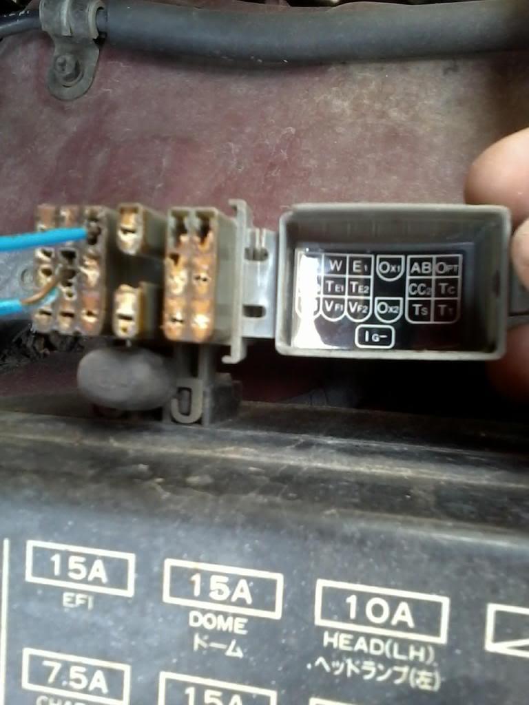 medium resolution of 1992 toyota pickup fuse box location