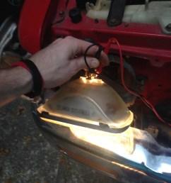 headlight harness wiring upgrade w pics headlight 1 jpeg  [ 1224 x 1632 Pixel ]