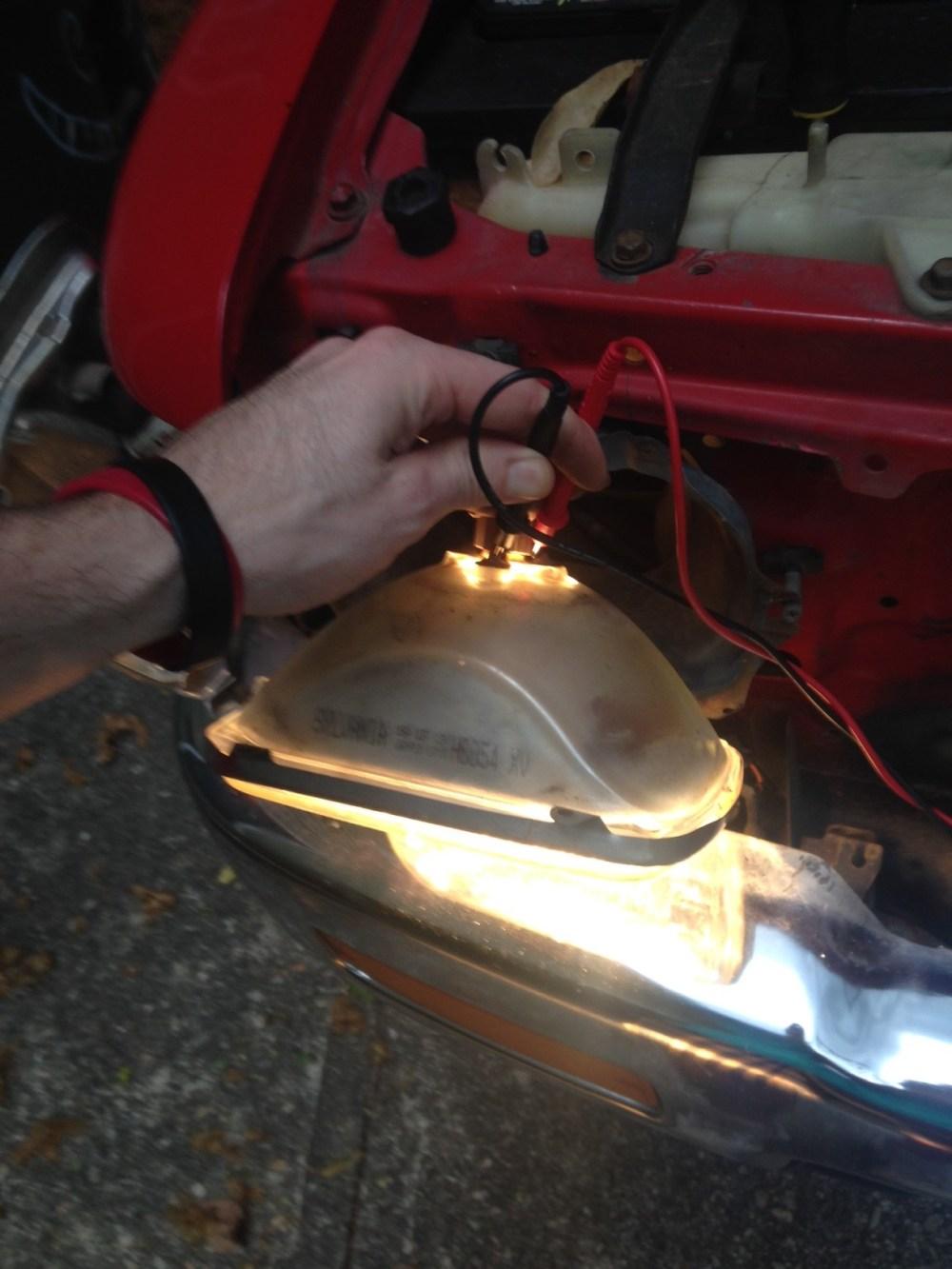medium resolution of headlight harness wiring upgrade w pics headlight 1 jpeg