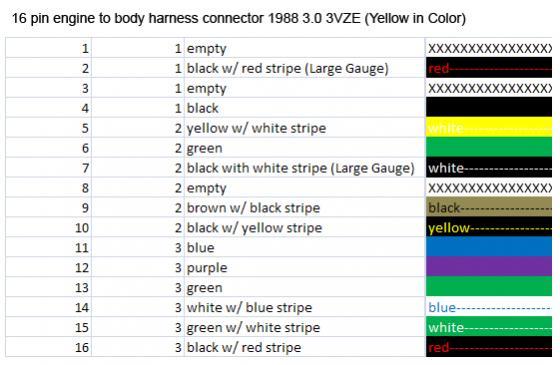 Chevy Mirror Wiring 88 3vze 5 Speed Wiring Diagram Help Yotatech Forums