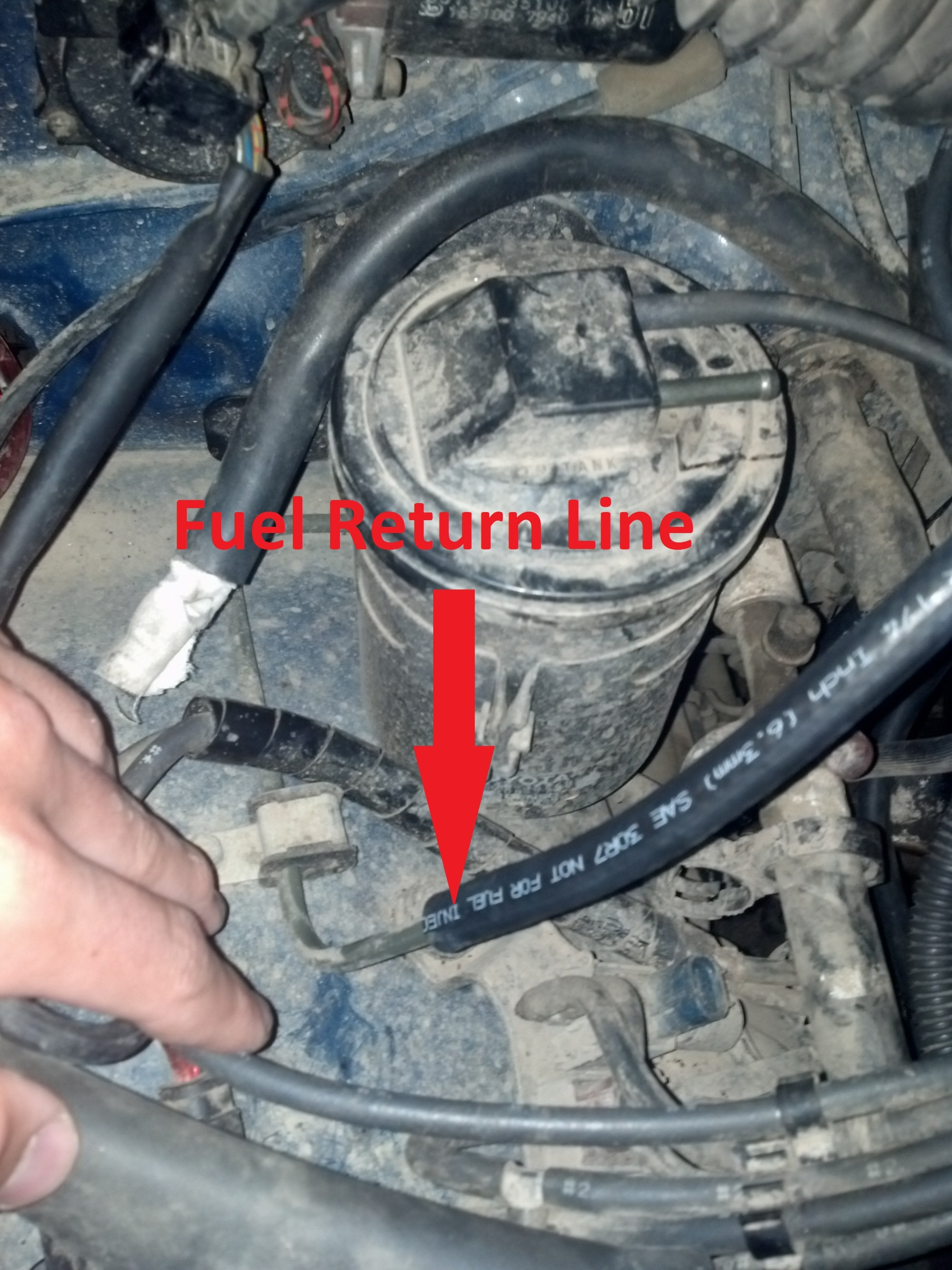 hight resolution of what to do about the fuel return line img 20130921 174847 752 jpg