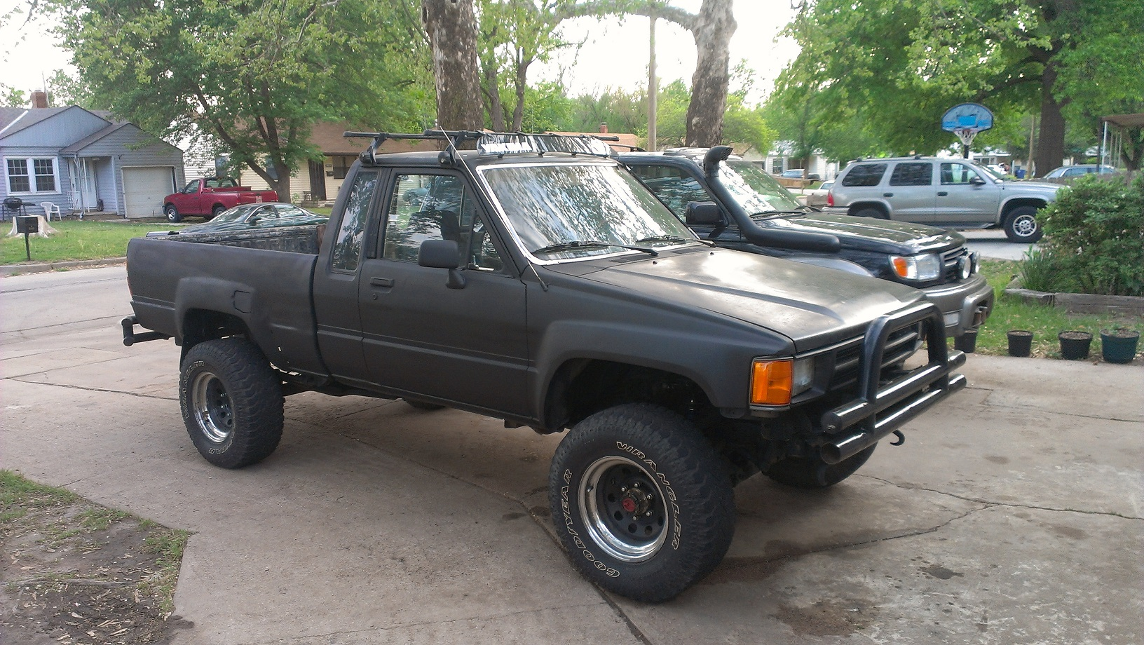 Toyota Pickup Roof Rack