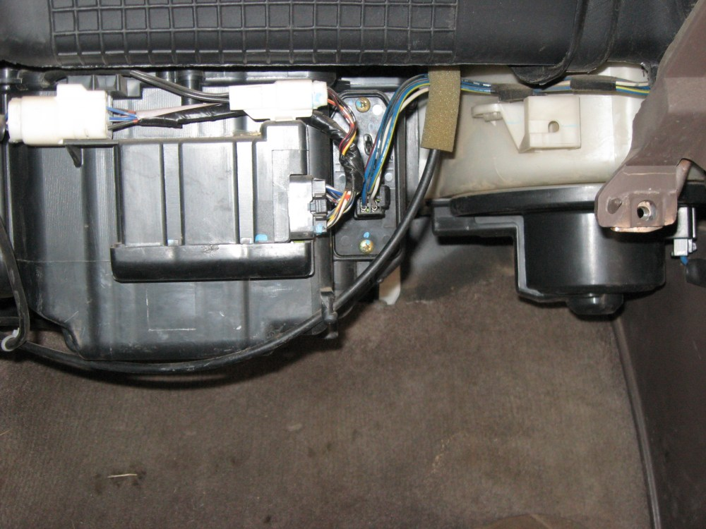 medium resolution of where is my blower motor resistor glove box removed jpg
