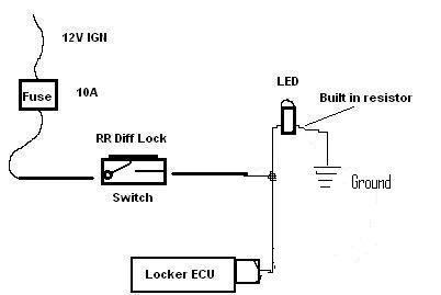 Another wiring question: Help me get a LED working with my