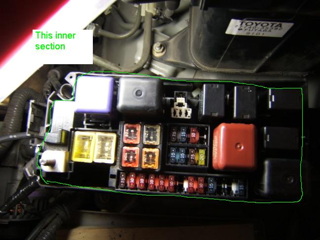 2004 Toyota Tacoma Fuse Box Diagram