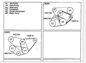 34 Drive Belt Diagram Help  YotaTech Forums