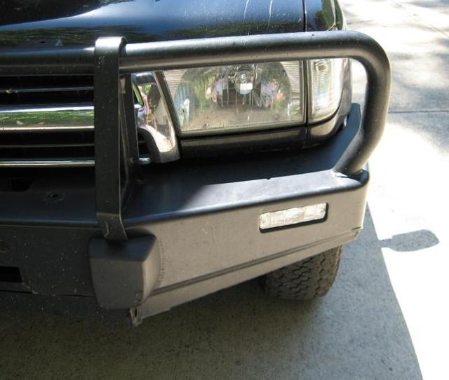 Clear Turn Signals For 3rd Gen 4runner And 1st Gen Tacoma Arb Bumpers Driver