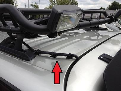 3rd Gen Roof light install (pics)