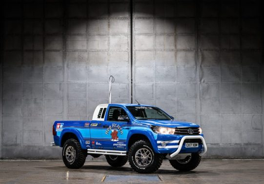 The Toyota Hilux Bruiser edition.