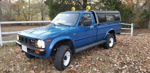 1981 Toyota Completed