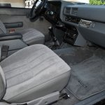 1985 Toyota pickup interior