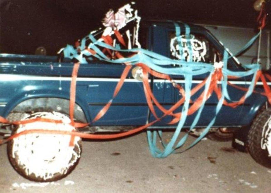 1981 Toyota Wedding