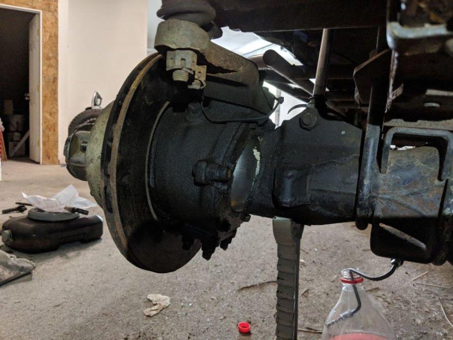 Toyota 4Runner Brake Backing
