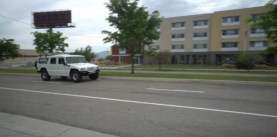 Toyota Mega Cruiser on the Road