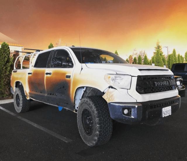 Camp Fire Toyota Tundra