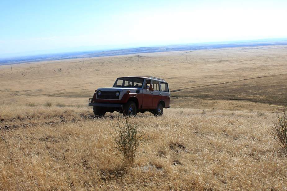 Off-Roading with Vintage Land Cruisers