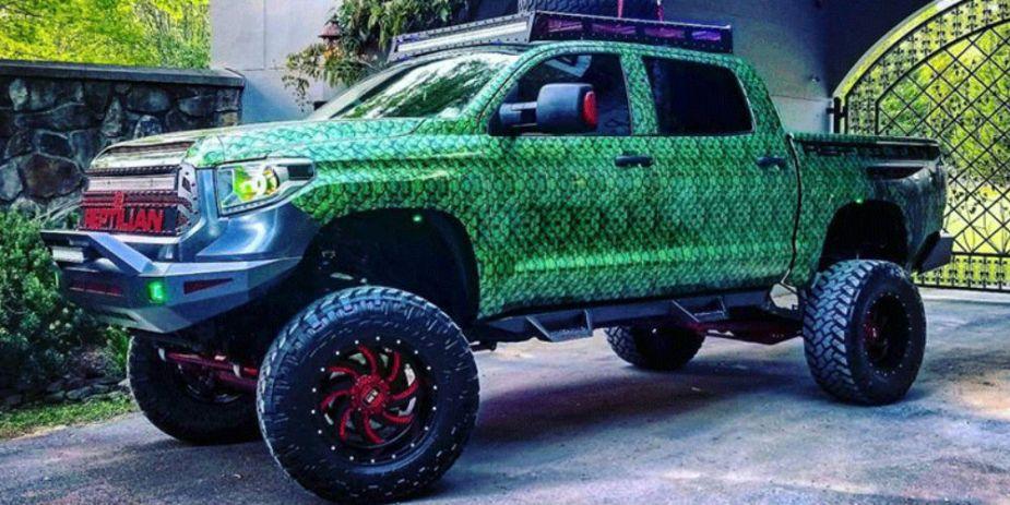 Reptilian Toyota Tundra