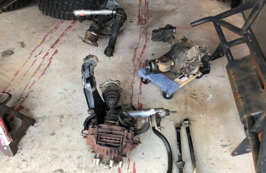 1990s Toyota IFS Differential