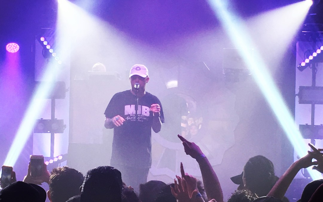 Last Concert of 2016: Mac Miller Honors The Divine Feminine