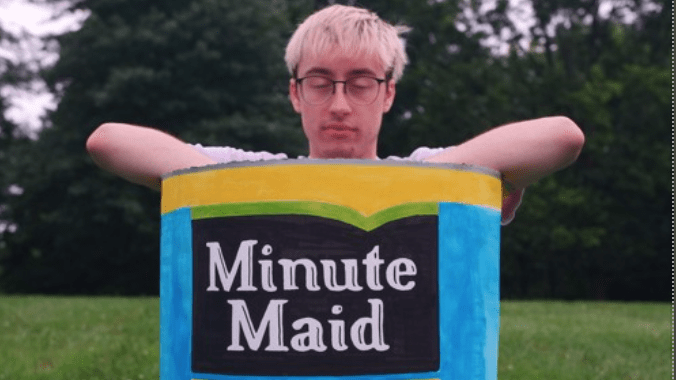 "Quench Your Thirst with Internetboy's ""Minute Maid!"""