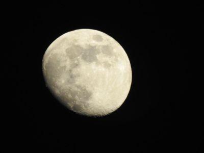 Prachtige maan