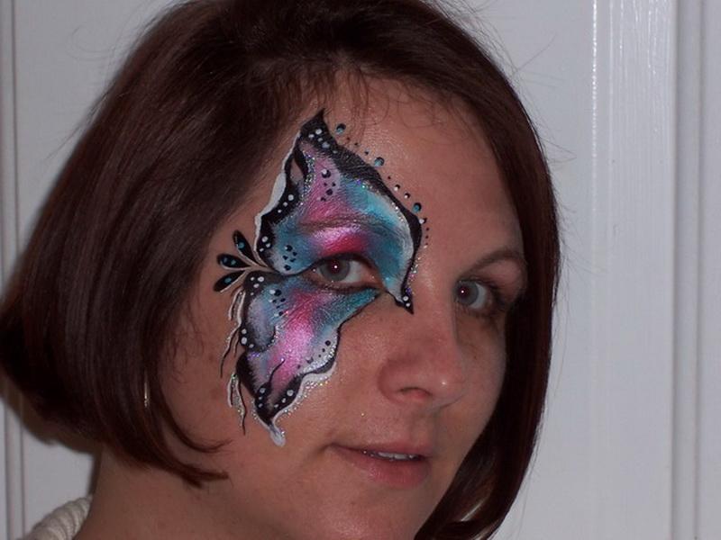 Facepainting Butterflies Masks Amp Beautiful Nothings