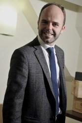 Riccardo Berni nel suo ufficio
