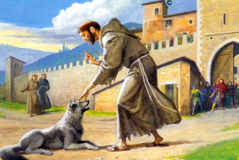 San Francesco e il lupo  YouAnimalit