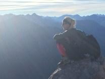 sun mountain alps